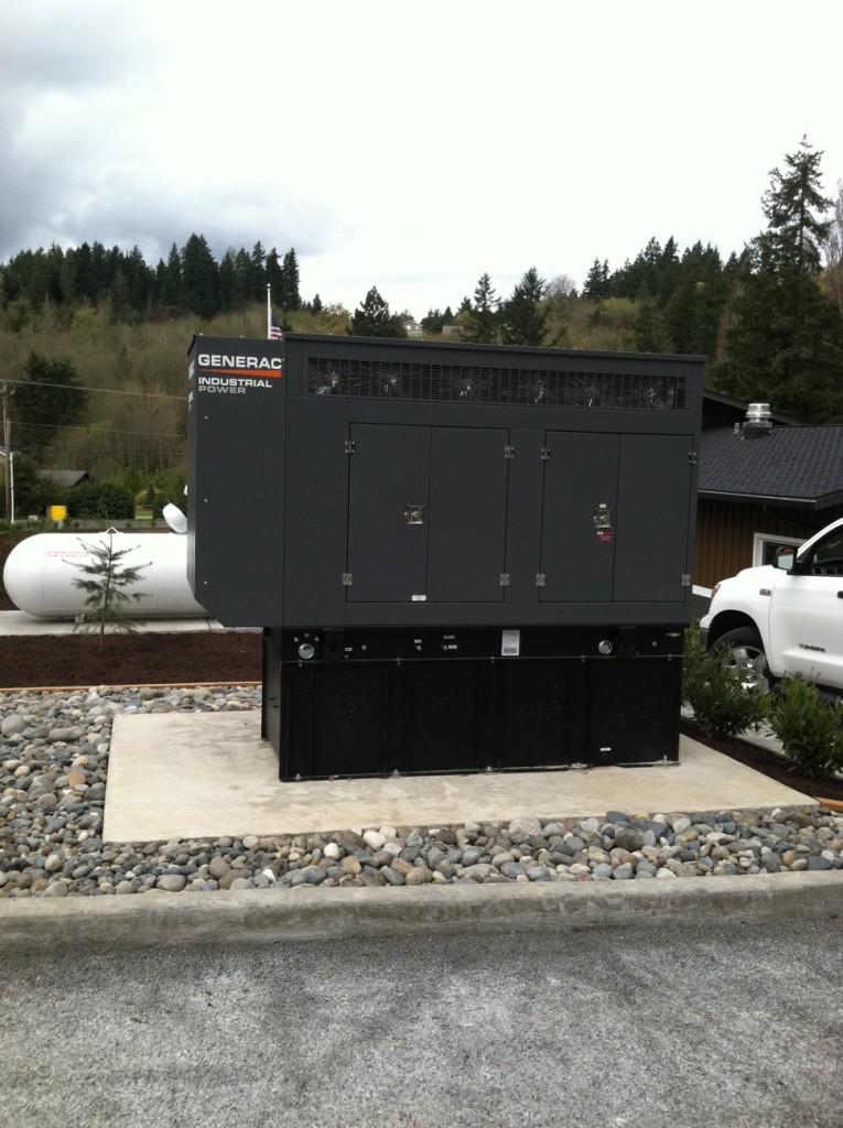 Fire Station Generator install